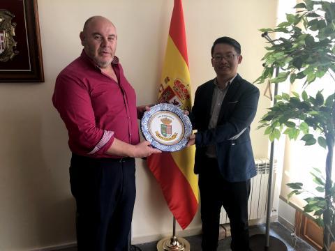 Andrés Samperio y Yi Sun