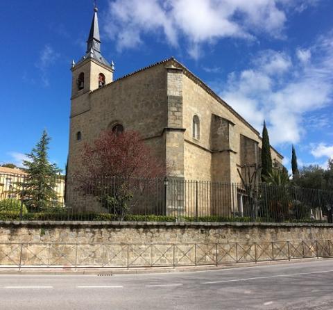 Iglesia de Nuestra Señora de la Estrella, Navalagamella