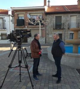 Andres Samperio Teo Pereiro Telemadrid